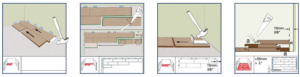 verlegetipps f r laminat parkett von parku flex aus hennef. Black Bedroom Furniture Sets. Home Design Ideas